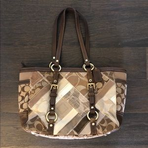Coach Signature Patchwork tote bag